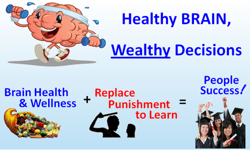 Healthy brain, wealthy decisions